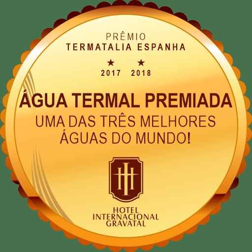 Selo terceira melhor água termal do mundo