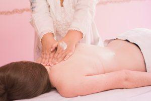 Massagem Relaxante feita no HIG